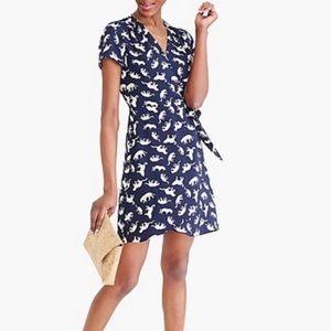NWOT JCrew Sz. 12 Wrap Dress